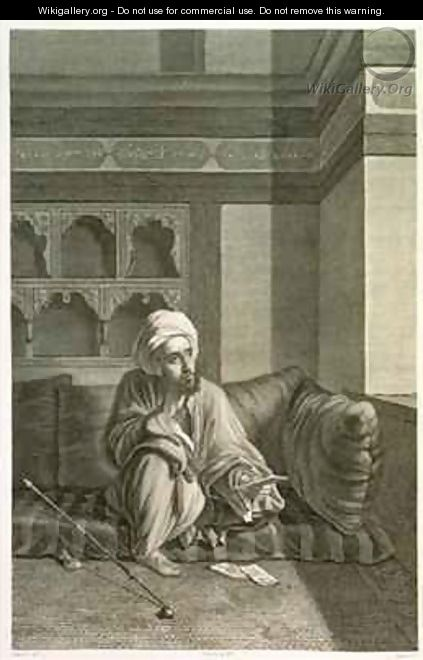 The Astronomer from Volume II Costumes and Portraits of Description of Egypt - (after) Dutertre, Andre