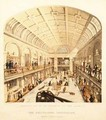 Interior view of the Great Gallery at the Polytechnic Institution Regent Street - Thomas Goldsworth Dutton