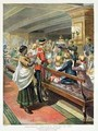 Childrens Christmas Dinner at Sea from the Graphic Christmas Number - Godefroy Durand
