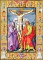 Ms 39 1601 The Crucifixion from Passio Domini Nostri Jesu Christi Secundum Joannem - (after) Durer or Duerer, Albrecht