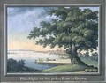 The Great Tree of Kingston with a view of Philadelphia behind - C.A. During