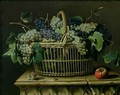 A Basket of Grapes - Pierre Dupuis