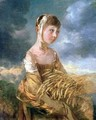 Miss Gainsborough Gleaning - Thomas Gainsborough