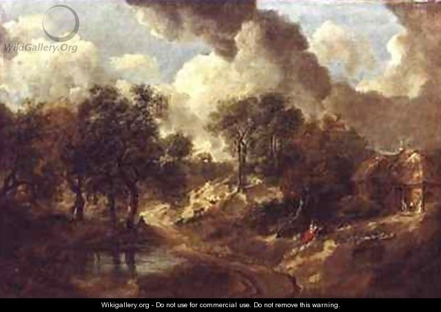 Suffolk Landscape - Thomas Gainsborough