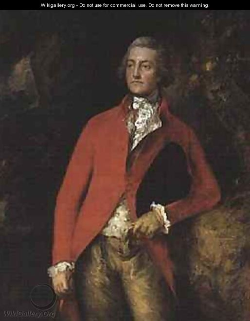 Major William Tennant of Needwood House Staffs - Thomas Gainsborough