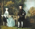 Lady Lloyd and her son Richard Savage Lloyd of Hintlesham Hall Suffolk - Thomas Gainsborough