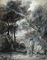 Wooded Landscape with Figures - Thomas Gainsborough