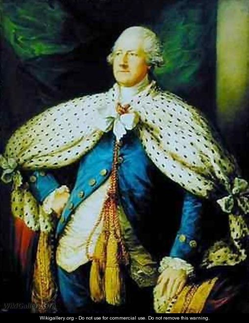 Portrait of John Hobart 1723-93 2nd Earl of Buckinghamshire 2 - Thomas Gainsborough