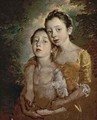 The Painters Daughters with a Cat - Thomas Gainsborough