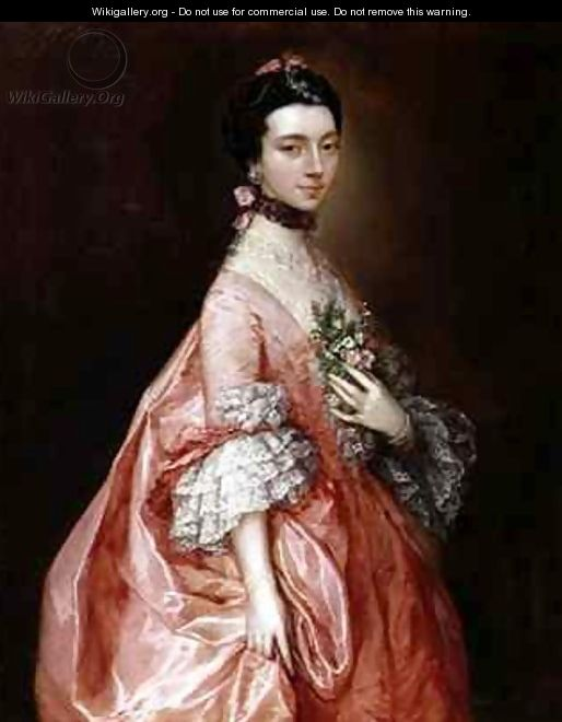Mary Little Later Lady Carr - Thomas Gainsborough