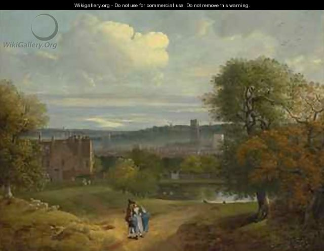 View of Ipswich from Christchurch Park - Thomas Gainsborough