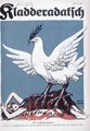 France as the dove of peace with eagles claws trapping a caricature of the Rhine - Werner Gahmann