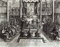 Anointing of Louis XIV 1638-1715 at Reims on 7th June 1654 - Francois Roger de Gaignieres