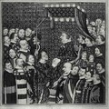Louis II Count of Clement paying homage to Charles V - Francois Roger de Gaignieres