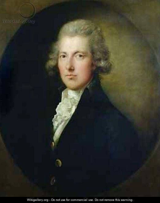 Portrait of William Pitt the Younger 1759-1806 2 - Dupont Gainsborough