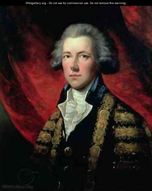 Portrait of William Pitt the Younger 1759-1806 - Dupont Gainsborough