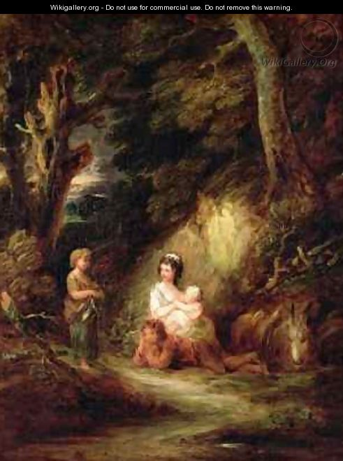 Gypsy Encampment - Dupont Gainsborough - WikiGallery org