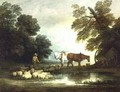 Shepherd by a Stream - Thomas Gainsborough
