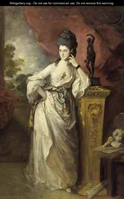 Viscountess Penelope Ligonier - Thomas Gainsborough