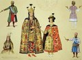 Costumes of the 17th and 18th centuries - Grigori Grigorevich Gagarin