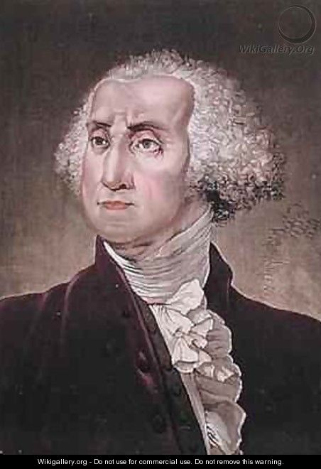 Portrait of George Washington - (after) Gallina, Gallo
