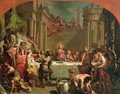 Marriage feast at Cana - Gaetano Gandolfi