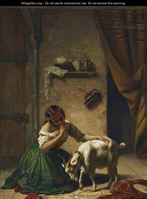 The spelling lesson Esmeralda et sa chevre - William Gale