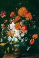 Vase of Flowers - Hieronymus Galle I