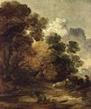 Herdsman driving cattle towards a pool - Thomas Gainsborough