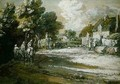 Travellers Passing a Village - Thomas Gainsborough