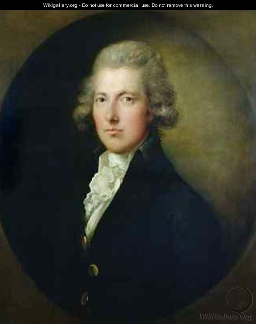 Portrait of William Pitt the Younger 1759-1806 2 - Gainsborough Dupont