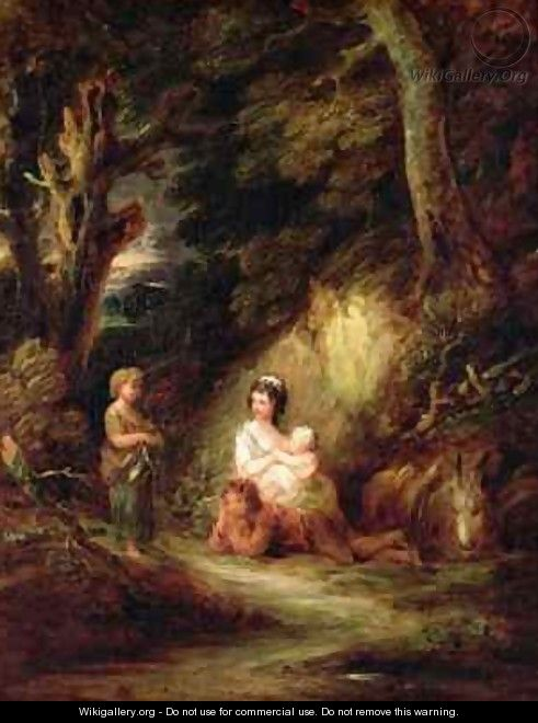 Gypsy Encampment - Gainsborough Dupont