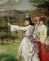 The Fair Toxophilites - William Powell Frith