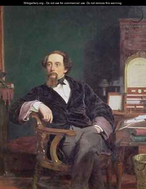 Portrait of Charles Dickens - William Powell Frith