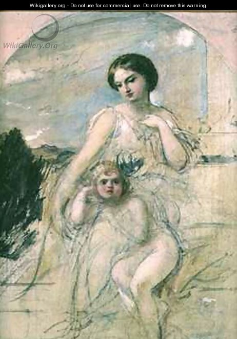 Mother and Child - William Edward Frost