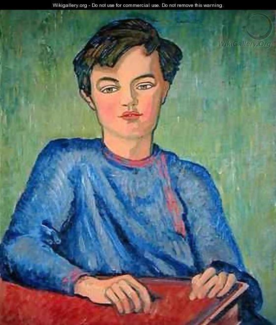 Portrait of Julian the Artists Son - Roger Eliot Fry