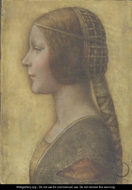 Profile of the Bella Principessa - Leonardo Da Vinci