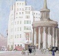 Past and Present Broadcasting House and All Souls Langham Place London - Edith Mary Garner