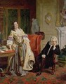 The Rejected Poet Alexander Pope and Lady Mary Wortley Montagu in 1863 - William Powell Frith