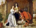 Scene from Molieres The Would be Gentleman - William Powell Frith