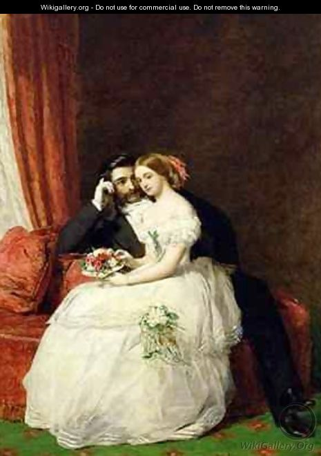 The Proposal - William Powell Frith