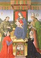 Madonna and Child with Saints - Raffaellino del Garbo