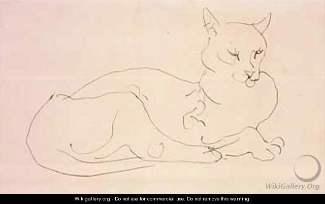 The Cat - Henri Gaudier-Brzeska