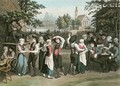Austrian Village Dance - (after) Gauermann, Jakob