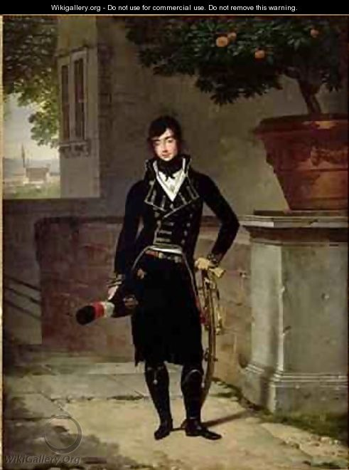 Portrait of an Officer of the Cisalpine Republic - Louis Gauffier