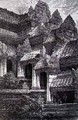 Angkor Wat showing the transition from the first to second floors - (after) Gauchards, J.