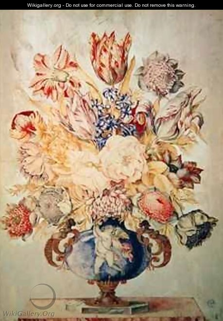 A Vase of Flowers - Giovanna Garzoni