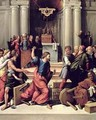 Christ Driving the Money Changers from the Temple - Garofalo