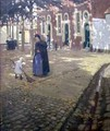 Sunshine in the Beguinage - Norman Garstin