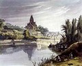 Triel from Views on the Seine - (after) Gendall, John
